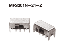 Nidec Copal Slide switches MFS201N-24-Z  200pcs