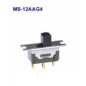 NKK SWITCHES  Slide switches MS-12AAG4  50pcs