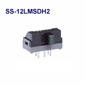 NKK SWITCHES  Slide switches SS-12LMSDH2  50pcs