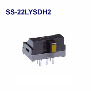 NKK SWITCHES  Slide switches SS-22LYSDH2  50pcs